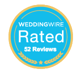 Wedding Wire Rated 52 Reviews