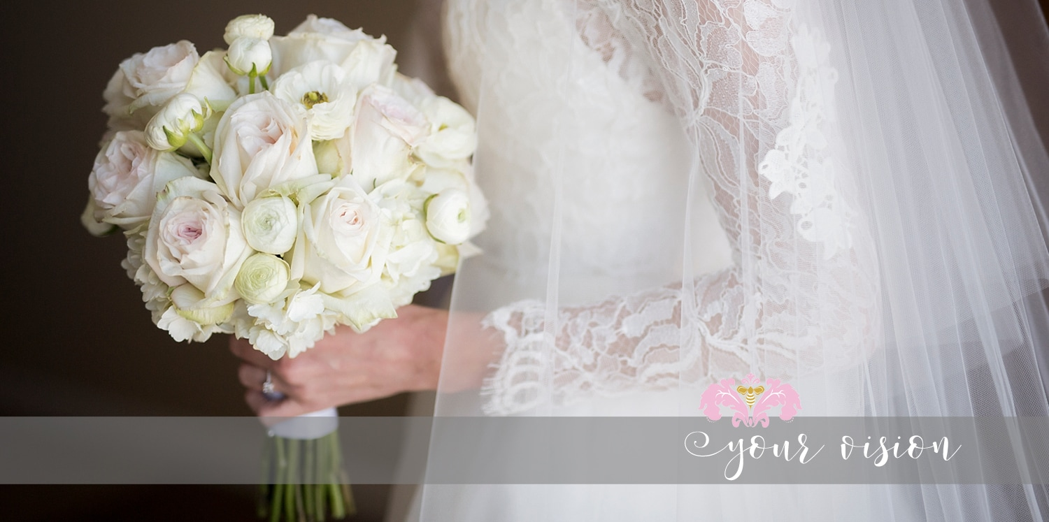 Romantic Wedding Bouquet By Fiore